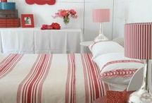 Red Bedroom / by Meg W