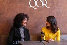 SD - Interviste & Conversazioni / Maria Giovanna Farina intervista per SiamoDonne i personaggi più in vista della cultura e dello spettacolo.