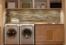 Laundry Room Ideas / Laundry Room Decor and Architecture / by Leah Taylor