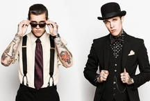 Men | tattoos + bow ties + beards /   / by Meg W