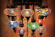 I love Chandeliers and Lamps / by Theresa Crenshaw