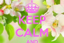 KEEP CALM ♔ / by Angie Stelnicki