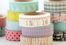 We <3 Washi! / From solid to patterned and classic to quirky, this collection is a washi tape lover's heaven — we're wild about washi! / by Stampington & Company