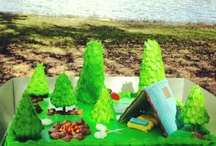 Camping and Cabins / by Yvette Mitjans