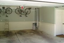 In the Garage / Garage Organization and Decor.... Decor for the garage?!!  ;) / by Leah Taylor