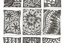 Zentangle Patterns / by Christy Moore