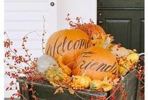 HALLOWEEN/THANKSGIVING/FALL / by Laura Wagner