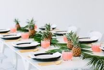 Table setting / Christmas, Easter, wedding, party, table, flowers, candles
