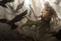 RPG Male Characters - Fantasy / by Christian Vilar