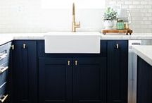 Kitchen + Dining / kitchen / dining room / home decor / kitchen designs / dining designs / heart of the house / gather / eat / cook / bake