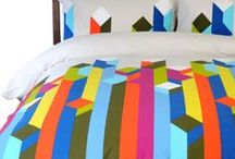 Perfect Bedroom / Interior design inspiration for a colourful light bedroom