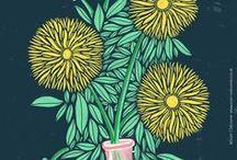 Illustration | Sam Osborne / Retro inspired, colourful Illustration work by Sam Osborne.   See my other boards for surface pattern, products & more design work