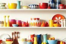 Perfect Kitchen / Interior design inspiration for bright colourful kitchens