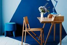 Perfect Office / Inspiring interior design for a funky colourful office or home office.
