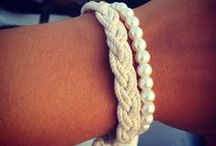 BRACELETS / Bracelets, watches, and other things you tie around your wrist. DIY bracelets and things I want. Inspiration for my own stacks! / by Brittany Witt