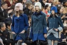 Chanel-Semana de la moda de Paris / La colección otoño invierno 2013-2014 del diseñador Karl Lagerfeld para Chanel, durante la semana de la moda de París.