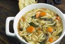 Soups & Salads / by Angela Hardin