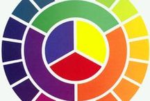 Color wheel / How to choose color combos  / by Toni Swindell