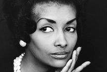 Black Vintage Glamour / Eartha, Dorothy, Josephine, and countless other women and men that had the pose, elegance and grace.