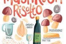 Food Illustration | Sam Osborne / Sam Osborne Food & Cooking Illustrations.