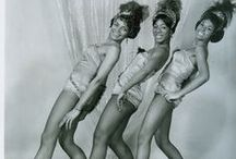 Black Pin Up and Burlesque Dancers / Vintage Black Pin Up Models and Burlesque Dance