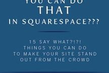 Squarespace Tips / The How to's, tips and tricks, building and makings of a Squarespace Platform