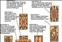 Tarot Spreads / Tarot card spreads to collect and practice