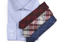 How To: Wear Plaid / Style tip: take the guesswork out of plaid by sticking with a solid or subtly-patterned shirt. It's easy. www.TheTieBar.com