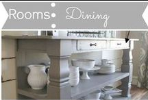 Rooms: Dining / by Mouse House Creations: Hayley Crouse