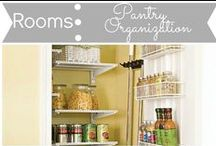 Rooms: Pantry Organization / by Mouse House Creations: Hayley Crouse