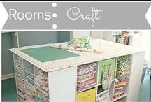 Rooms: Craft / by Mouse House Creations: Hayley Crouse