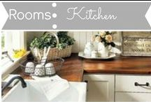Rooms: Kitchen / by Mouse House Creations: Hayley Crouse