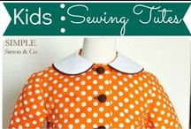 Kids: Sewing / by Mouse House Creations: Hayley Crouse