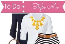 To Do List: Style Me / by Mouse House Creations: Hayley Crouse