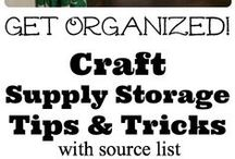 Craft Rooms / Craft Room:  Creating in a cool space