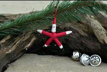 Coastal Christmas / Beach Christmas Decorating Ideas and Inspiration