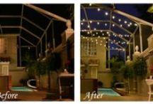 Lanai Lighting / Elegant lighting for screened lanais, patios, pool decks and outdoor areas! / by Tampa Lights