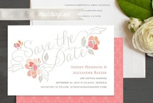 Save the Date Cards / Beautiful save the date cards to announce your wedding date. / by Elli
