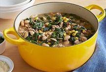 Recipes: Soups, Stews & Chili / by amber tu