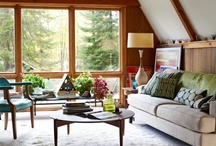 Home | Cozy Cabin / the inspiration for making our truckee gambrel a place to relax & entertain
