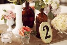wedding centerpieces / by Hannah Long