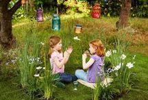 Kids im Garten