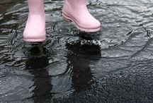 Boots, Rubber boots, umbrella's, hats & sunglasses etc. / Boots, hats, and accessories  / by Jeanette Greenwald