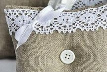Burlap & Lace Wedding Ideas / Burlap and lace details for a country or rustic themed wedding. / by Elli