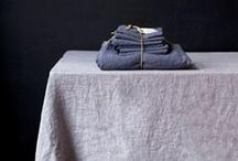 Lovely Textiles / Throws, bed linens, and table linens. We love all things linen.