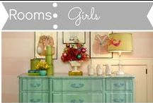 Rooms: Girls / by Mouse House Creations: Hayley Crouse