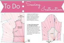 To Do List: Sewing Instruction / by Mouse House Creations: Hayley Crouse