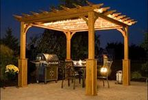 Ideas for Our House: Outdoor Overhaul - Pergolas and Decks