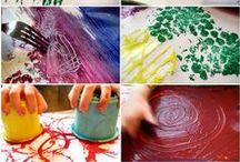 Preschool {art experience} / by Ashley A. Blazejak