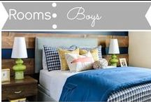 Rooms: Boys / by Mouse House Creations: Hayley Crouse